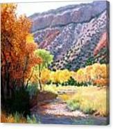 Jamez Fall Canvas Print
