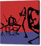 Jammin Jazz Quintet Canvas Print
