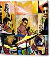 Jammin N Rhythm Canvas Print