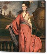 Jane Fleming, Later Countess Canvas Print