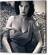 Jane Russell Canvas Print