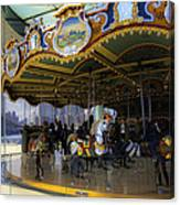 Jane's Carousel 1 In Dumbo Canvas Print