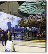 Jane's Carousel 2 In Dumbo - Brooklyn Canvas Print