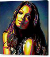 Janet Jackson Canvas Print