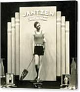 Jantzen Swim Suit Display Canvas Print