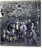 Japan Group Portrait, C1866 Canvas Print