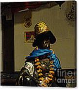 Japanese Buddhist Shrine With Bodhisattva 03 Canvas Print