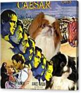 Japanese Chin Art - Julius Caesar Movie Poster Canvas Print
