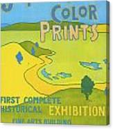 Japanese Color Prints 1896 Canvas Print