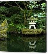 Japanese Garden Calmness Canvas Print