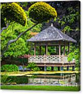 Japanese Gazebo Canvas Print