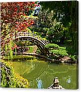 Japanese Spring - The Japanese Garden Of The Huntington Library. Canvas Print