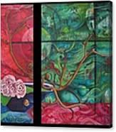 Japanesse Flower Arrangment Canvas Print