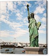 Japan's Statue Of Liberty Canvas Print