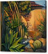 Jardin De Cactus Canvas Print