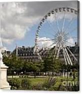 Jardin Des Tuileries Canvas Print
