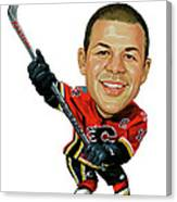Jarome Iginla Canvas Print