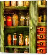 Jars - Ingredients II Canvas Print