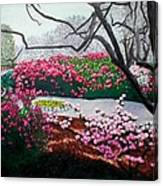 Jasmine Hill Gardens Canvas Print
