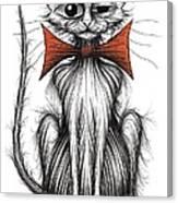 Jasper The Cat Canvas Print