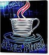 Java Plus Canvas Print