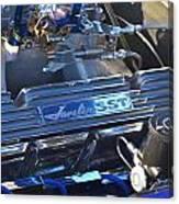 Javelin Sst V-8 Engine Canvas Print
