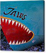 Jaws Boat Bow Canvas Print