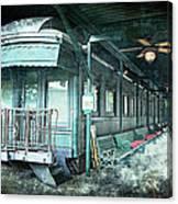 Jay Gould Private Railroad Car Canvas Print