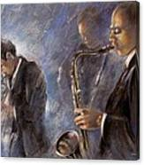 Jazz 01 Canvas Print