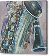 Jazz Buddies Canvas Print