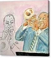 Jazz Dream Team   Canvas Print