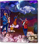 Jazz In Heaven Canvas Print
