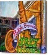 Jazz Kitchen Signage Downtown Disneyland Photo Art 02 Canvas Print