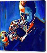 Jazz Man Miles Davis Canvas Print