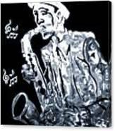 Jazz Notes Canvas Print