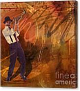 Jazz Nrg Canvas Print