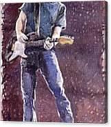 Jazz Rock John Mayer 01 Canvas Print