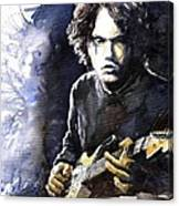 Jazz Rock John Mayer 03  Canvas Print