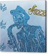Jazz Saxophone Canvas Print