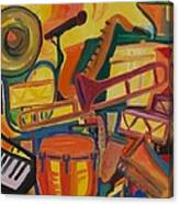 Jazz Squared Canvas Print