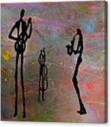 Jazz Trio 3 Canvas Print