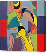 Jazzamatazz Saxophone Canvas Print