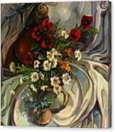Jazzy Still-life Canvas Print