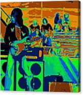 Jb #33 Enhanced In Cosmicolors Canvas Print
