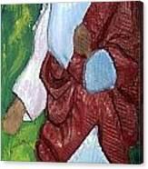 J.b.j. The Christ Like Me Canvas Print