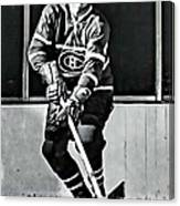 Jean Beliveau Canvas Print