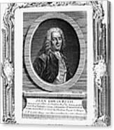 Jean Louis Petit (1674-1750) Canvas Print