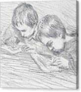 Jean Pierre Hoschede And Michel Monet Canvas Print