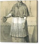 Jean-siffrein Maury  French Priest Canvas Print