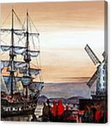 Jeanie Johnston Famine Ship Canvas Print